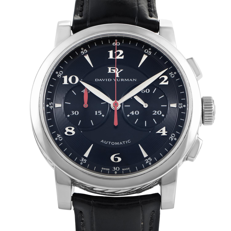 David Yurman Men's Automatic Stainless Steel Chronograph Watch T711-C