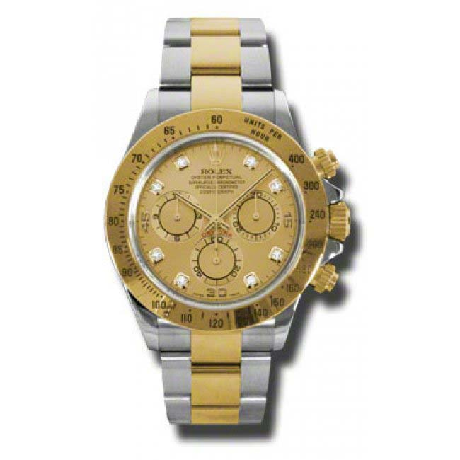 Daytona Steel and Gold 116523 chd