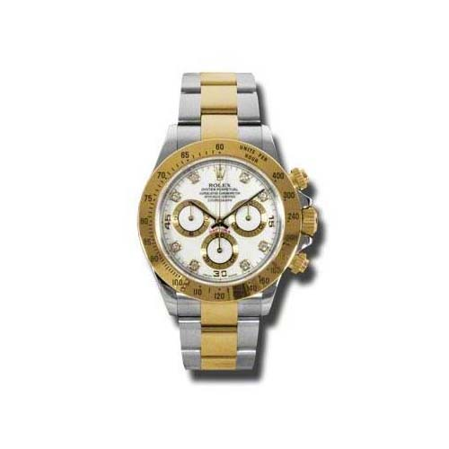 Daytona Steel and Gold 116523 wd