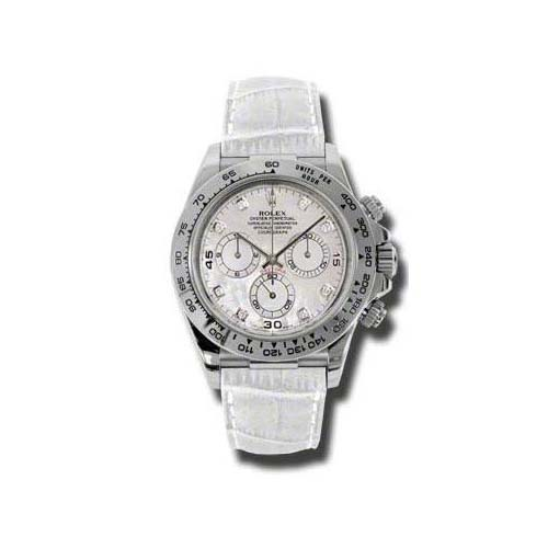 Daytona White Gold 116519 mopdiaw