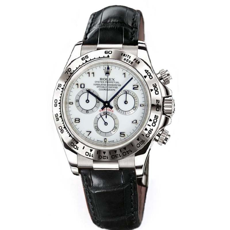Daytona White Gold 116519 wabk