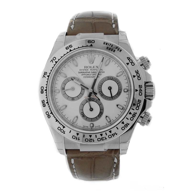 Daytona White Gold 116519 wabr