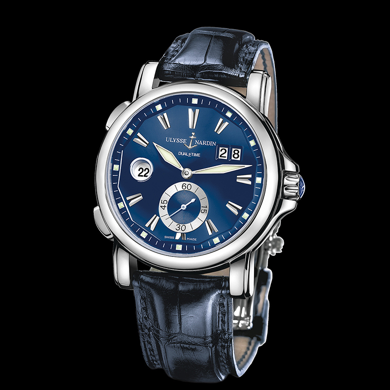 Dual Time Small Seconds 42mm 243-55/93