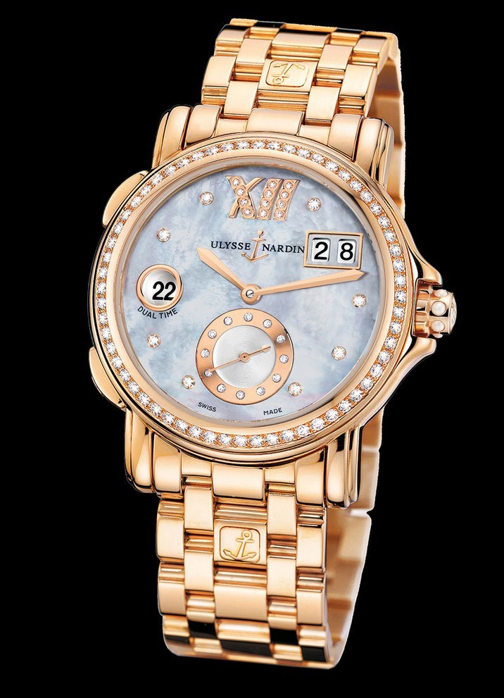 Dual Time Ladies Small Seconds 37mm 246-22B-8/392