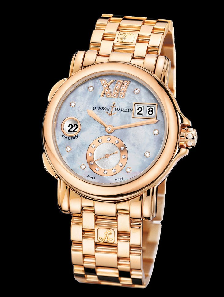 Dual Time Ladies Small Seconds 37mm 246-22-8/392