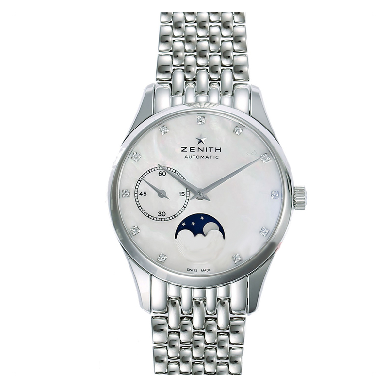 Elite Ultra Thin Lady Moonphase SS 03.2310.692/81.M2310