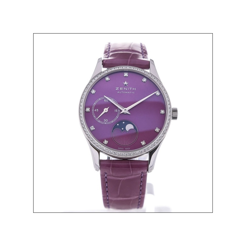 Elite Ultra Thin Lady Moonphase Violet 16.2310.692/92.C750