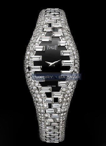 Exceptional Timepieces Limelight Haute Couture Inspiration Diamond Watch GOA35107