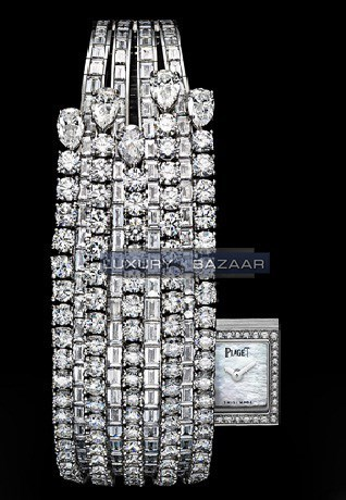 Exceptional Timepieces Limelight Secret Cascade Inspiration Diamond Watch GOA35108