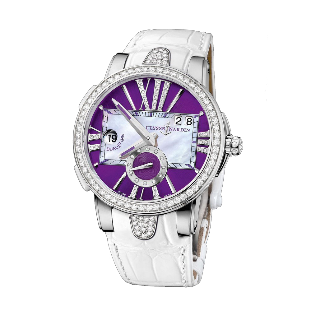 Executive Dual Time Ladies 40mm 243-10B/30-07