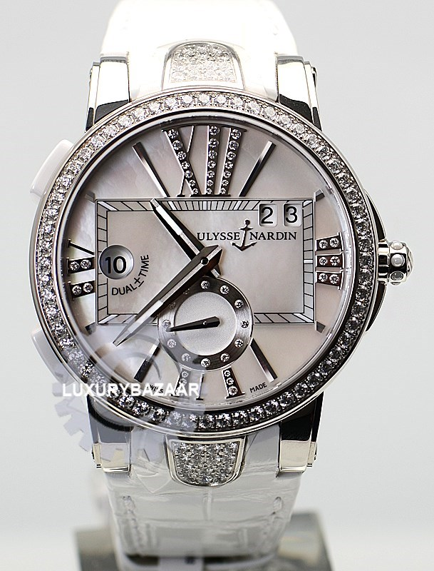 Executive Dual Time Ladies 40mm 243-10B/391