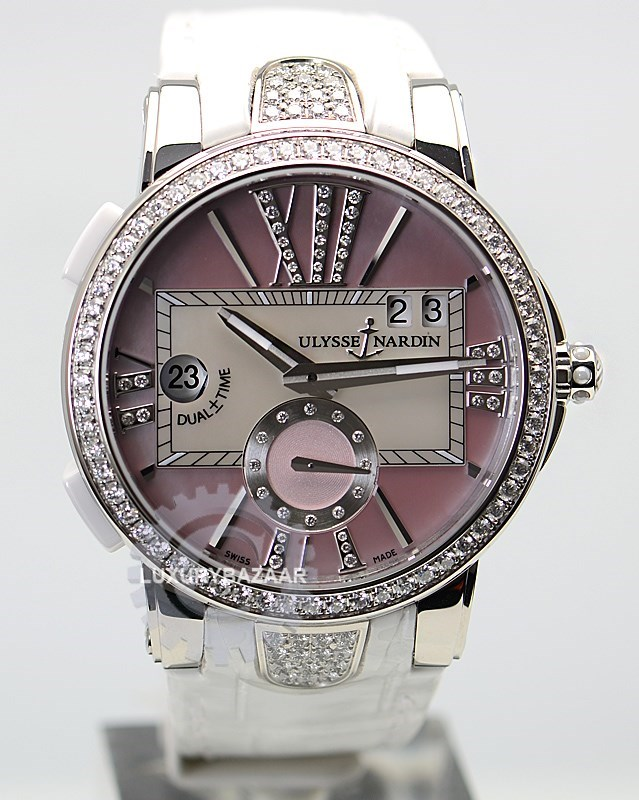 Executive Dual Time Ladies 40mm 243-10B/397