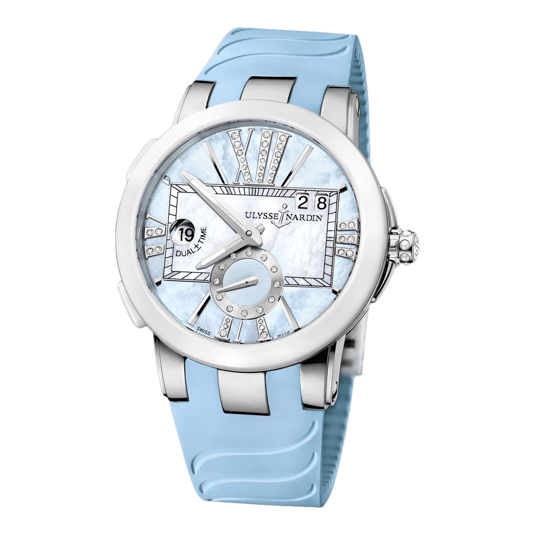Executive Dual Time Ladies 40mm 243-10-3/393