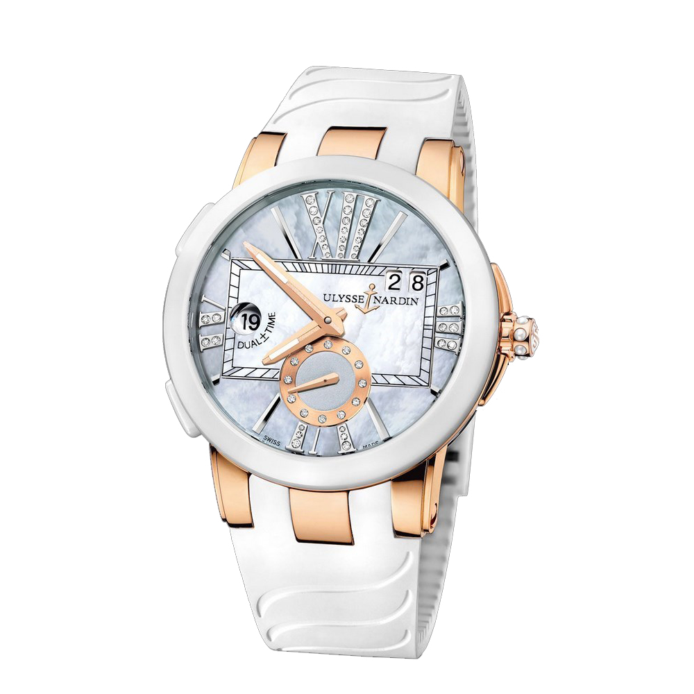 Executive Dual Time Ladies 40mm 246-10-3/392