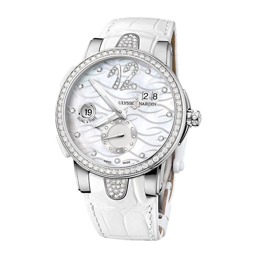 Executive Dual Time Ladies 40mm 243-10B-3C/691