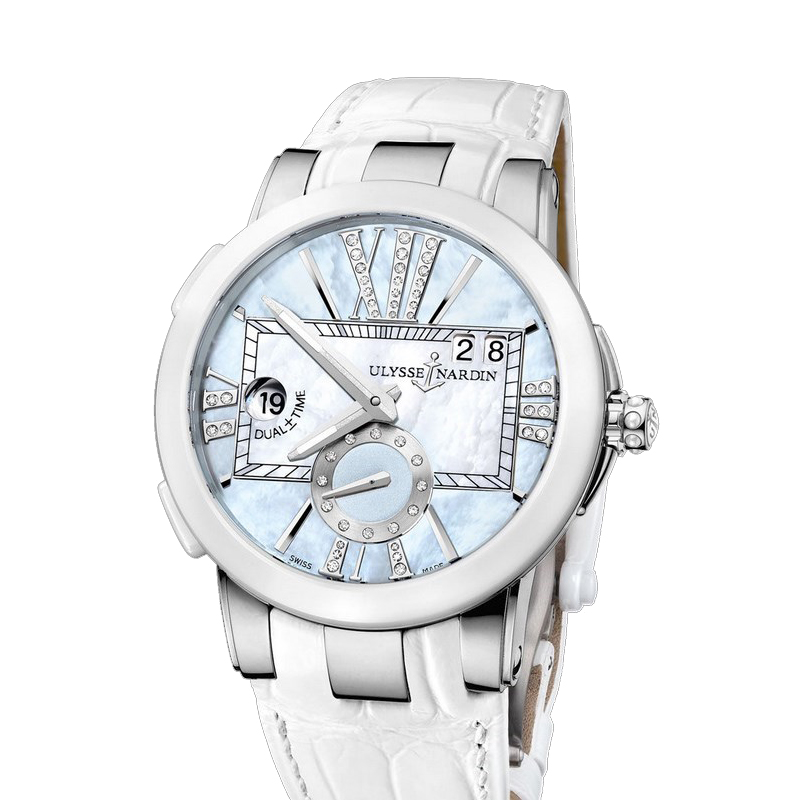 Executive Dual Time Ladies 40mm 243-10/393