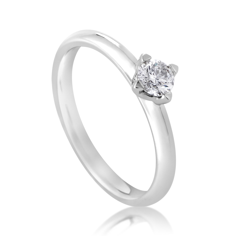 Forevermark Platinum Diamond Engagement Ring