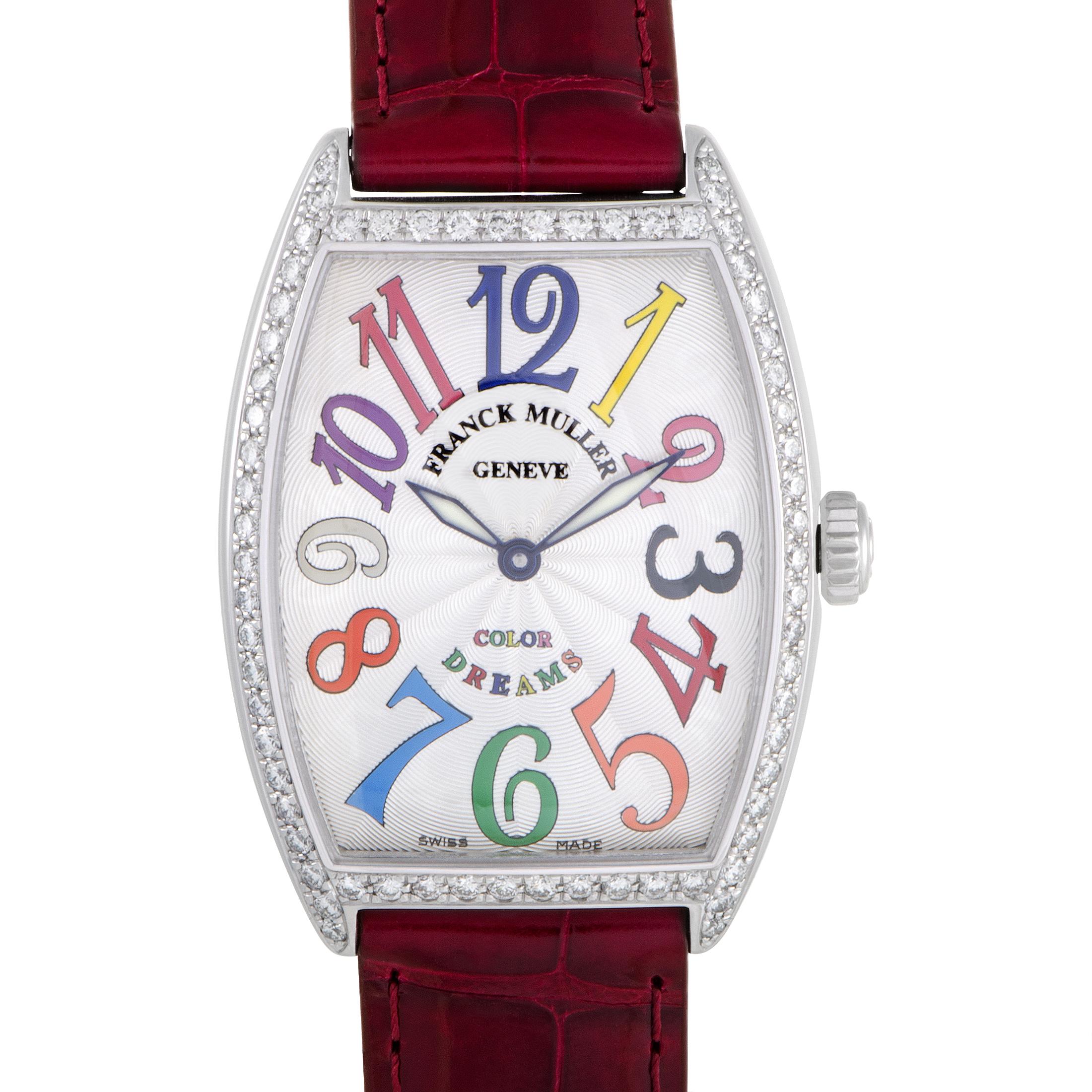 Color Dreams Womens Quartz Stainless Steel Watch 2852QZD1RCOLDR
