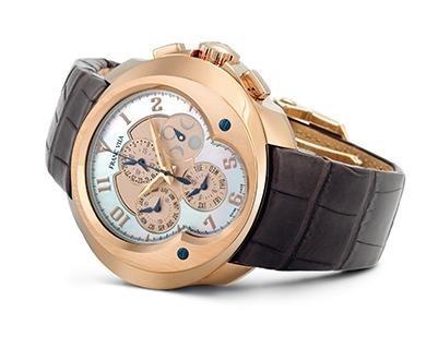 Franc Villa Haute Horlogerie Chronograph Quantieme Annual Automatique FVa129A