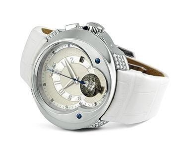 Franc Vila Haute Joaillerie Universal Timezone GMT Quantieme Automatique with Diamonds FVa5