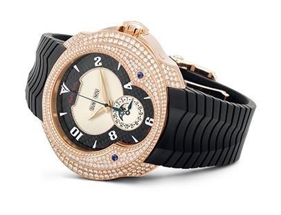 Franc Vila Haute Joaillerie Quantieme Automatique HJ4 with Diamonds FVa7