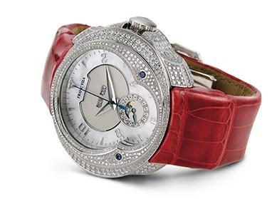 Franc Vila Haute Joaillerie Quantieme Automatique HJ5 with Diamonds FVa7