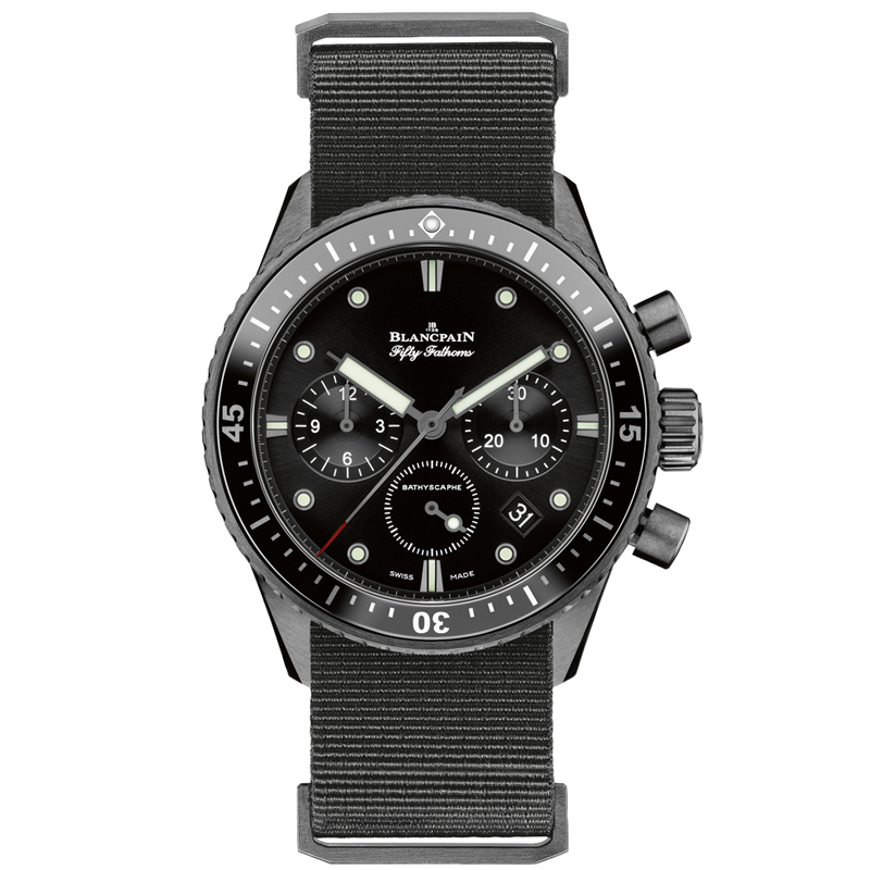 Fifty Fathoms Bathyscaphe Chronographe Flyback 5200-0130-NABA (Ceramic)
