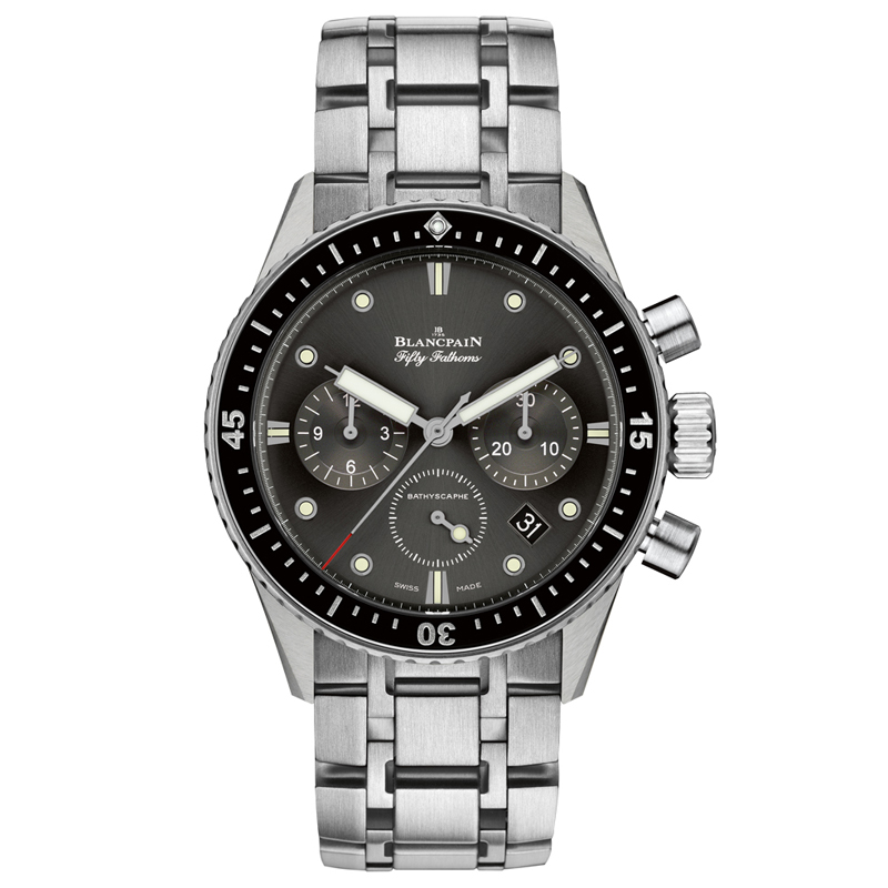 Fifty Fathoms Bathyscaphe Chronographe Flyback 5200-1110-70B (Stainless Steel)