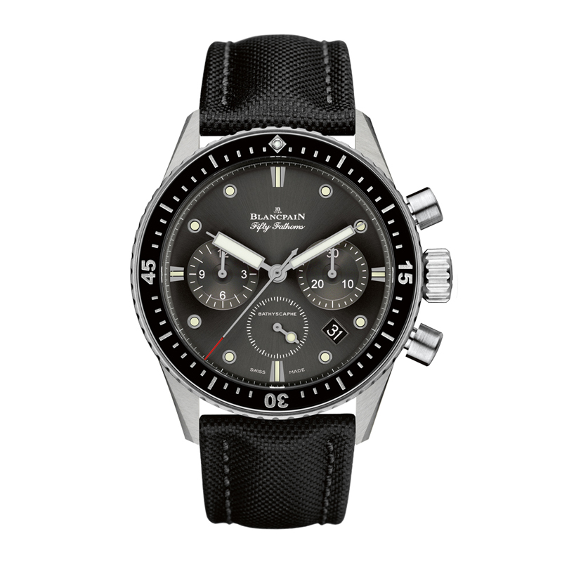 Fifty Fathoms Bathyscaphe Chronographe Flyback 5200-1110-B52A (Stainless Steel)