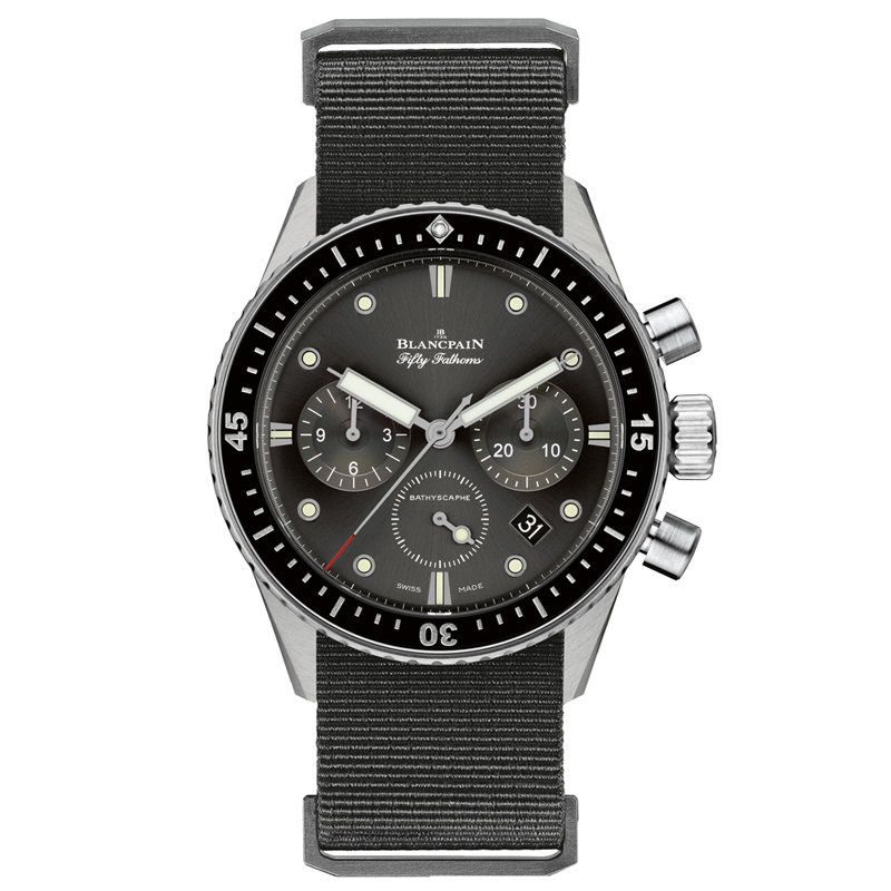 Fifty Fathoms Bathyscaphe Chronographe Flyback 5200-1110-NABA (Stainless Steel)