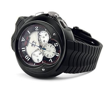 Franc Vila Grand Sport Chronograph Grand Dateur Automatique Black Fva8ch