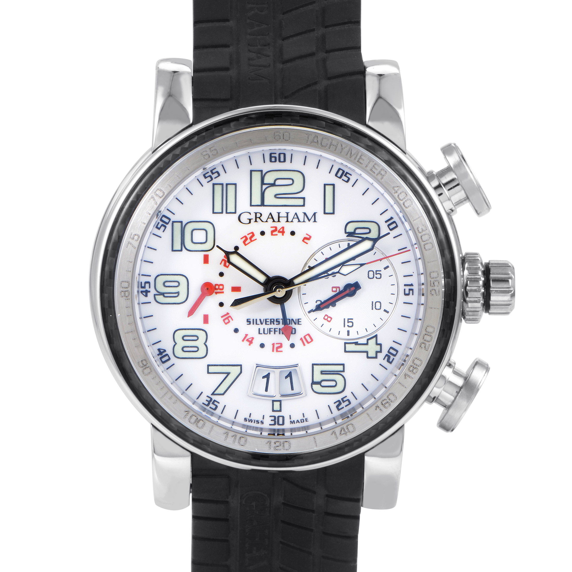 Grand Silverstone Men's Automatic GMT Watch 2GSIUS.W01A.K07B