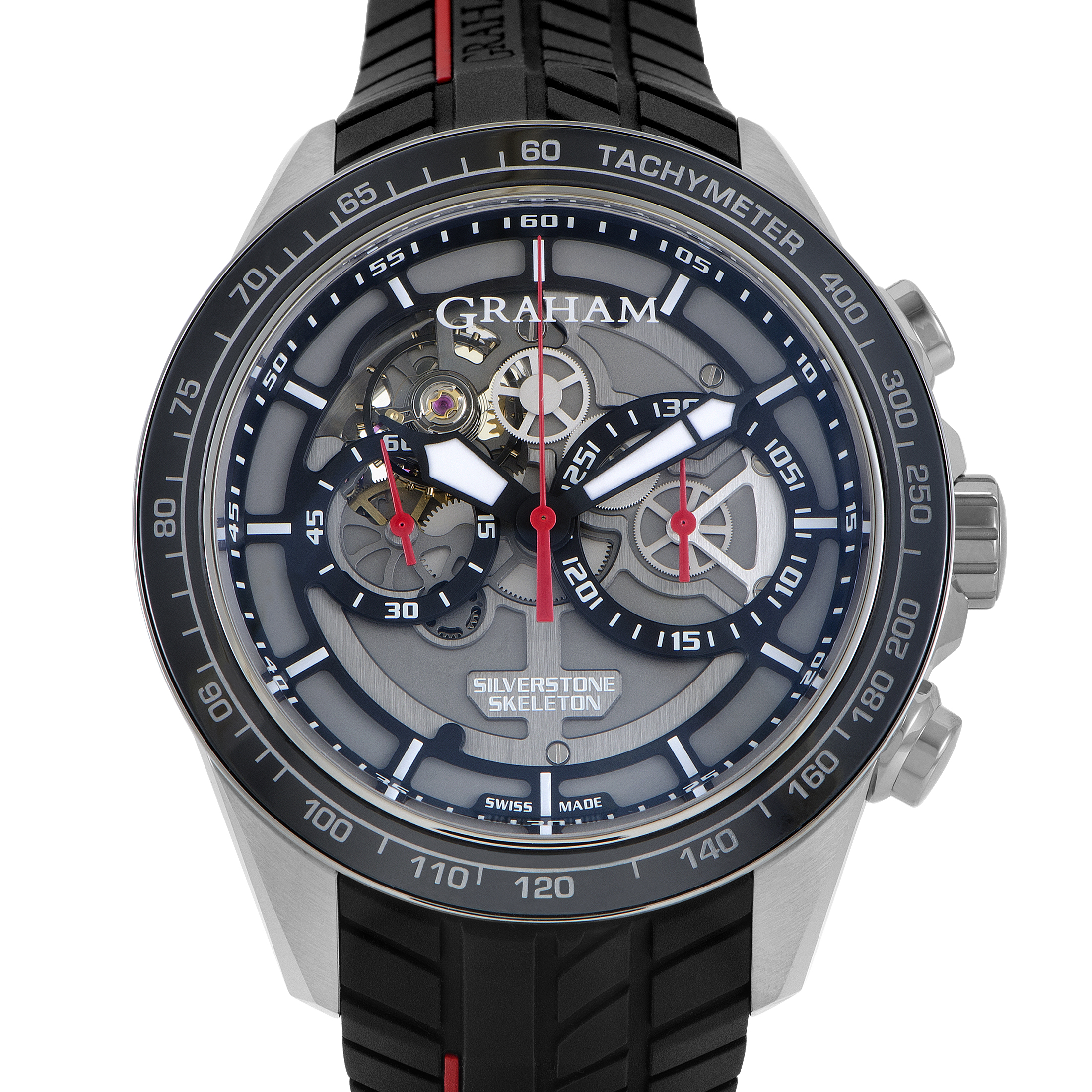 Silverstone RS Skeleton Mens Automatic Chronograph Watch 2STAC1.B01A