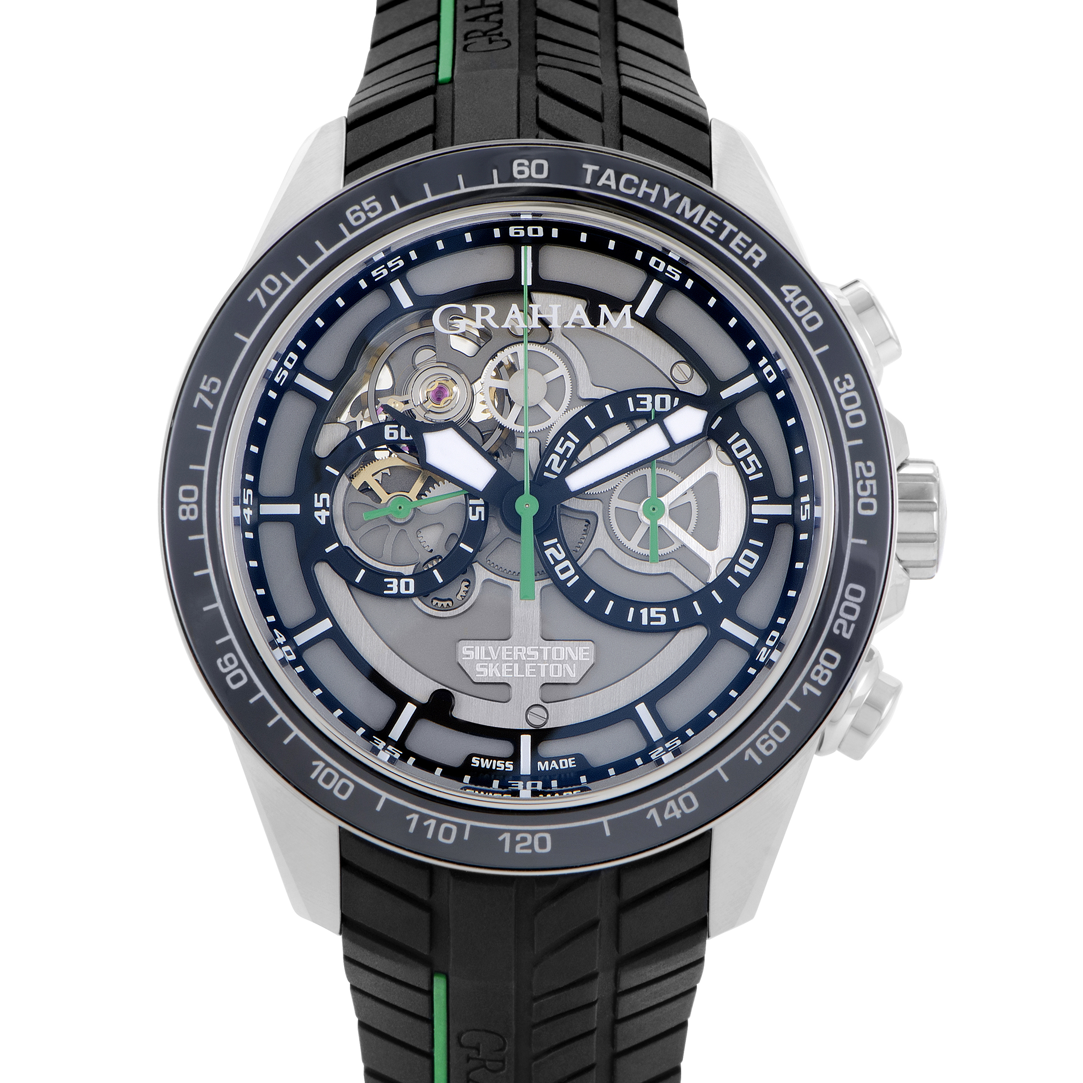 Silverstone RS Skeleton Mens Automatic Chronograph Watch 2STAC2.B01A