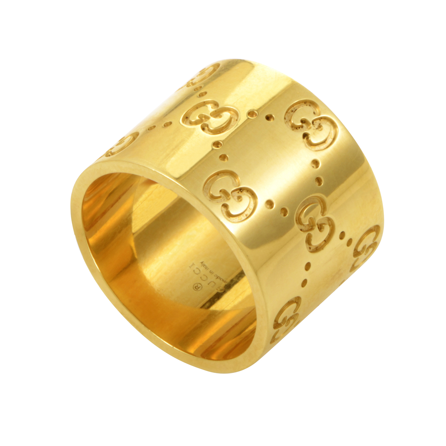 Icon Women's 18K Yellow Gold Wide Band Ring 05065561