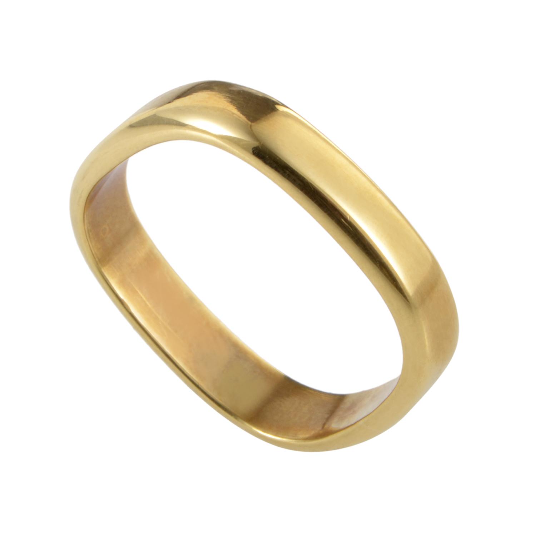 Women's 18K Yellow Gold Band Ring GUC03260