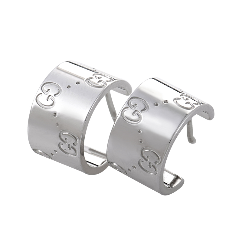 Gucci 18k Gold Earrings Gucci Icon 18k White Gold