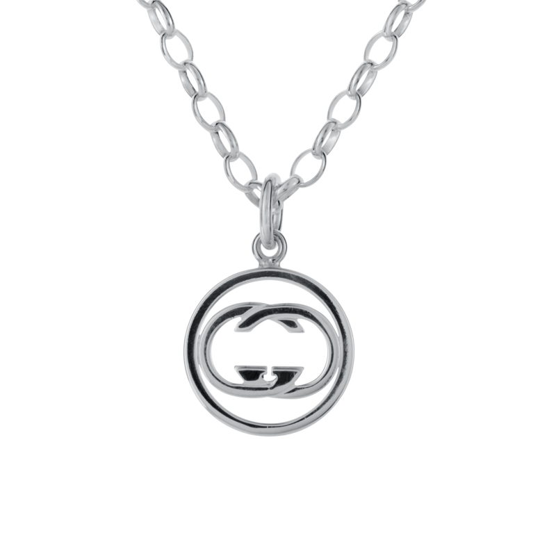 Icon Sterling Silver Pendant Necklace GUC25-010515