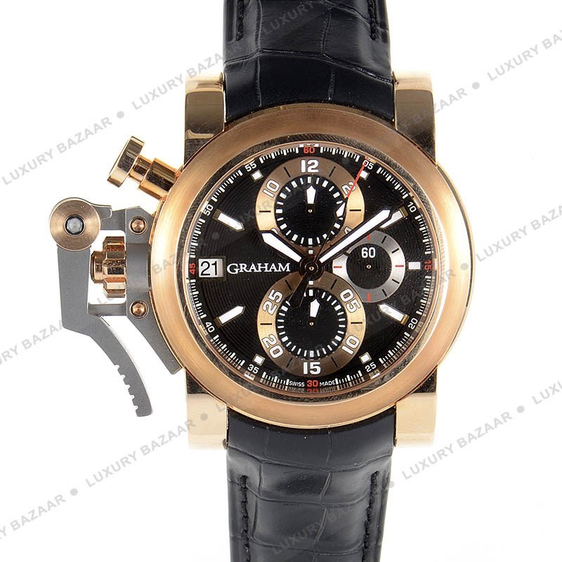 Chronofighter Oversize Goldfinger Black 20VCF.B08A.C83T