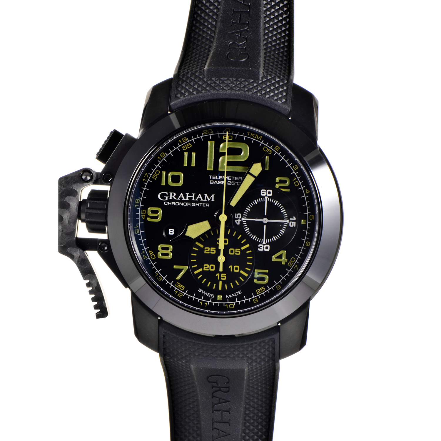Chronofighter Oversize Amazonia Green 2CCAU.G01A.T15N