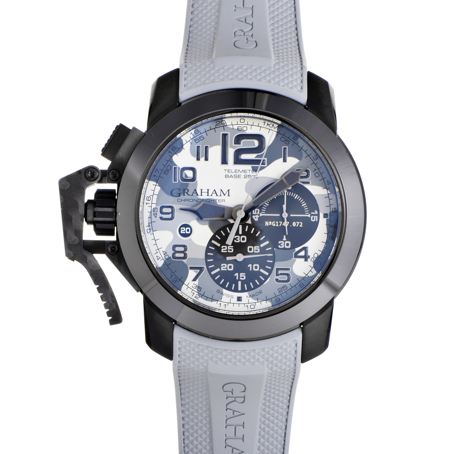 Chronofighter Oversize Black Arrow Grey Celsius 2CCAU.S02A.K97N