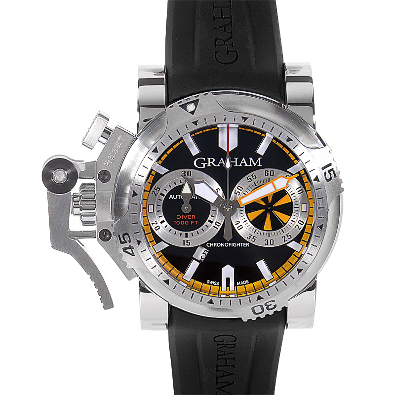 Chronofighter Oversize Diver Turbo Steel 2OVES.B15A