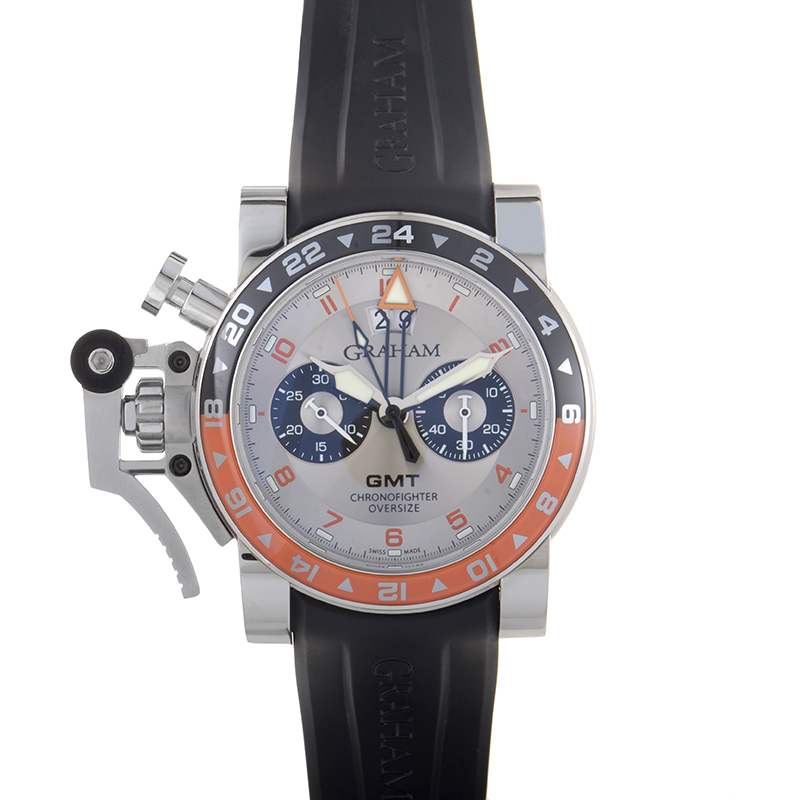 Chronofighter Oversize GMT Big Date 2OVASGMT.S01A.K10B