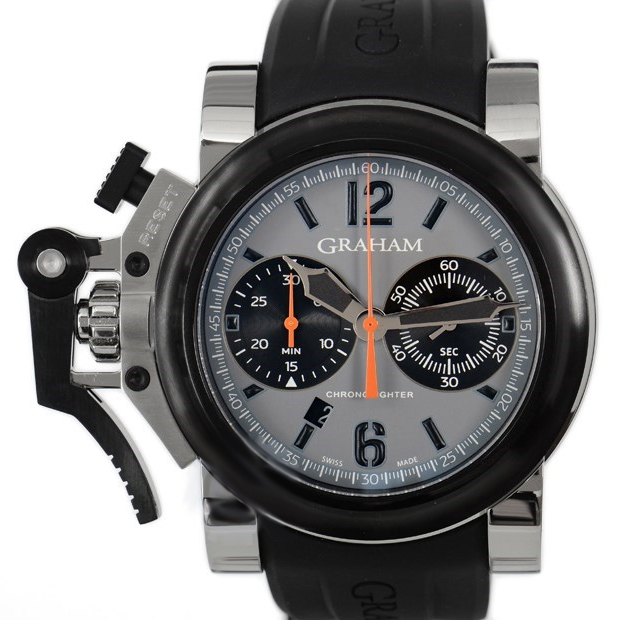 Chronofighter Oversize Grey 2OVBV.S08A.K10S