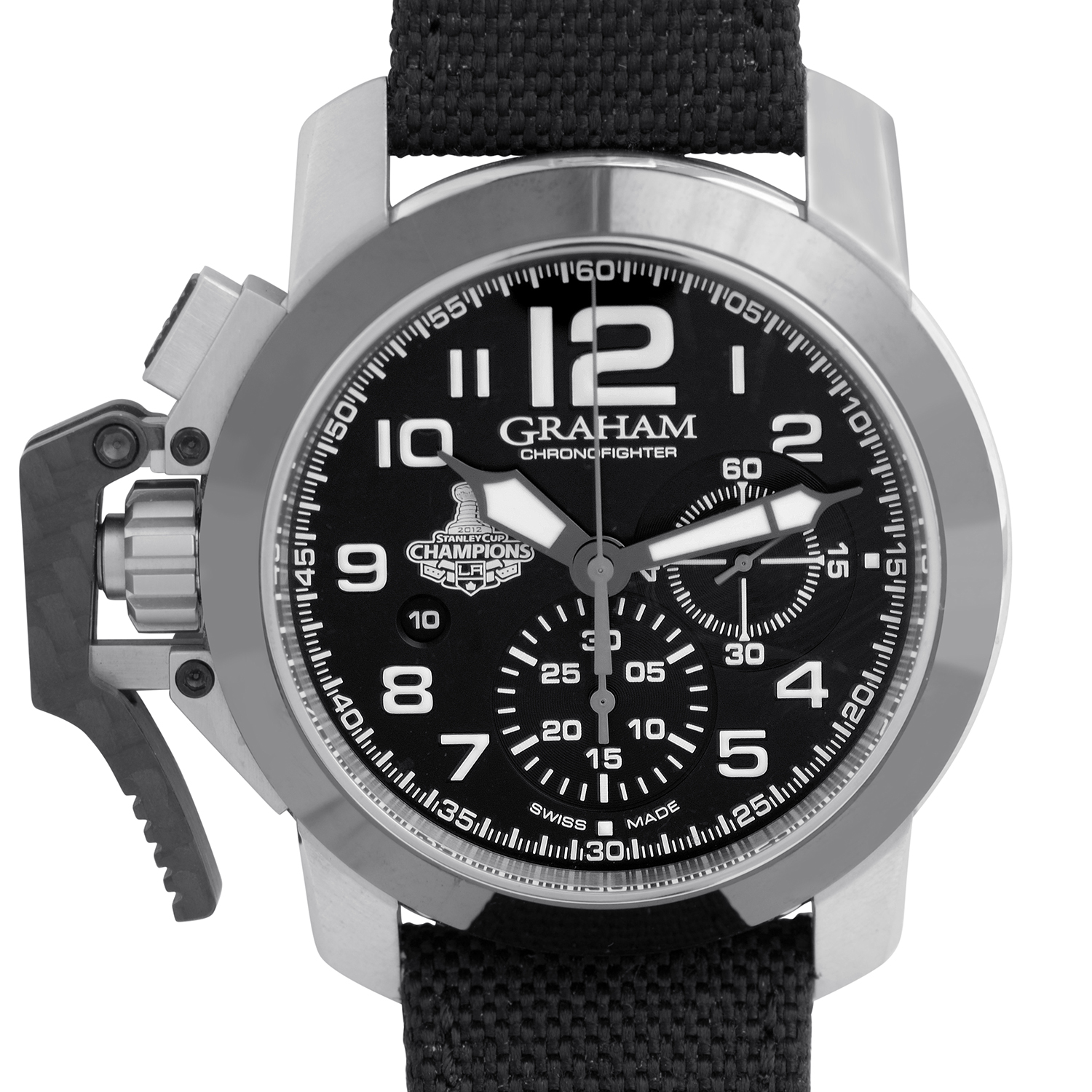 Chronofighter Oversize LA Kings Limited 2CCAC.B08A.T12S