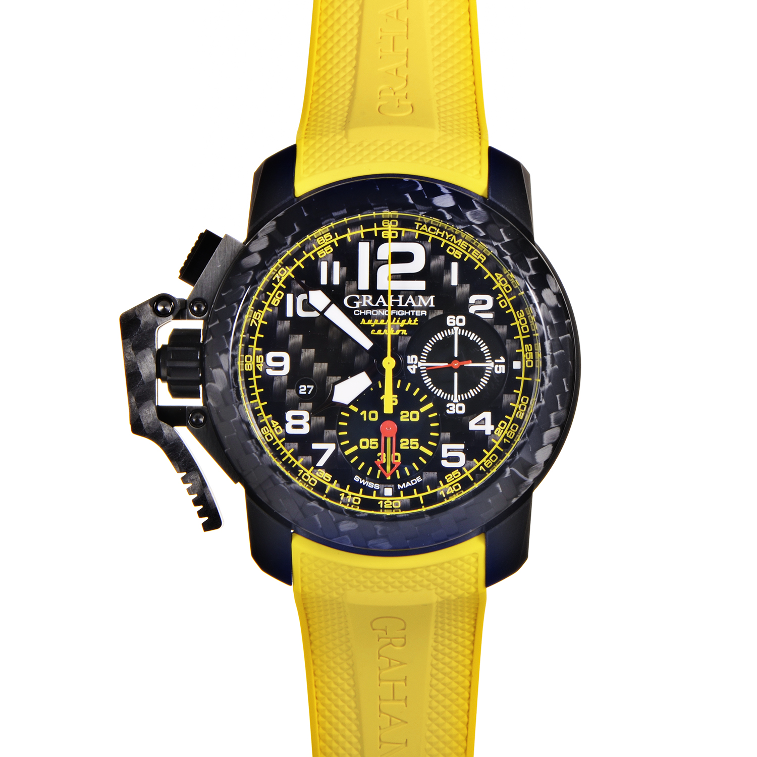 Chronofighter Oversize Superlight Carbon Yellow 2CCBK.B15A.K103K