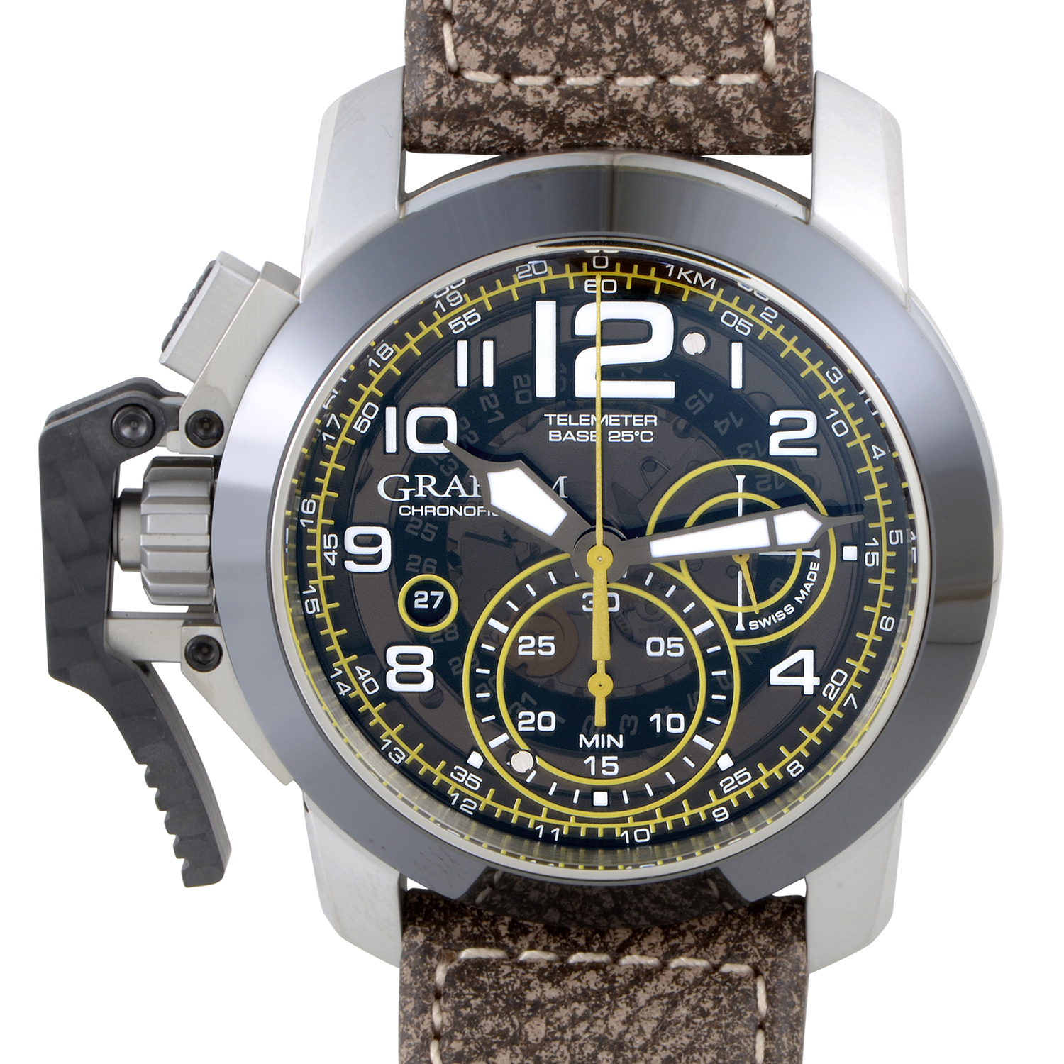 Chronofighter Oversize Target Brown 2CCAC.B16A.L43S
