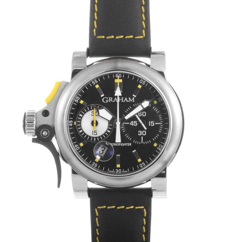 Chronofighter R.A.C. Trigger Black Rush 2TRAS.B01A.L91B