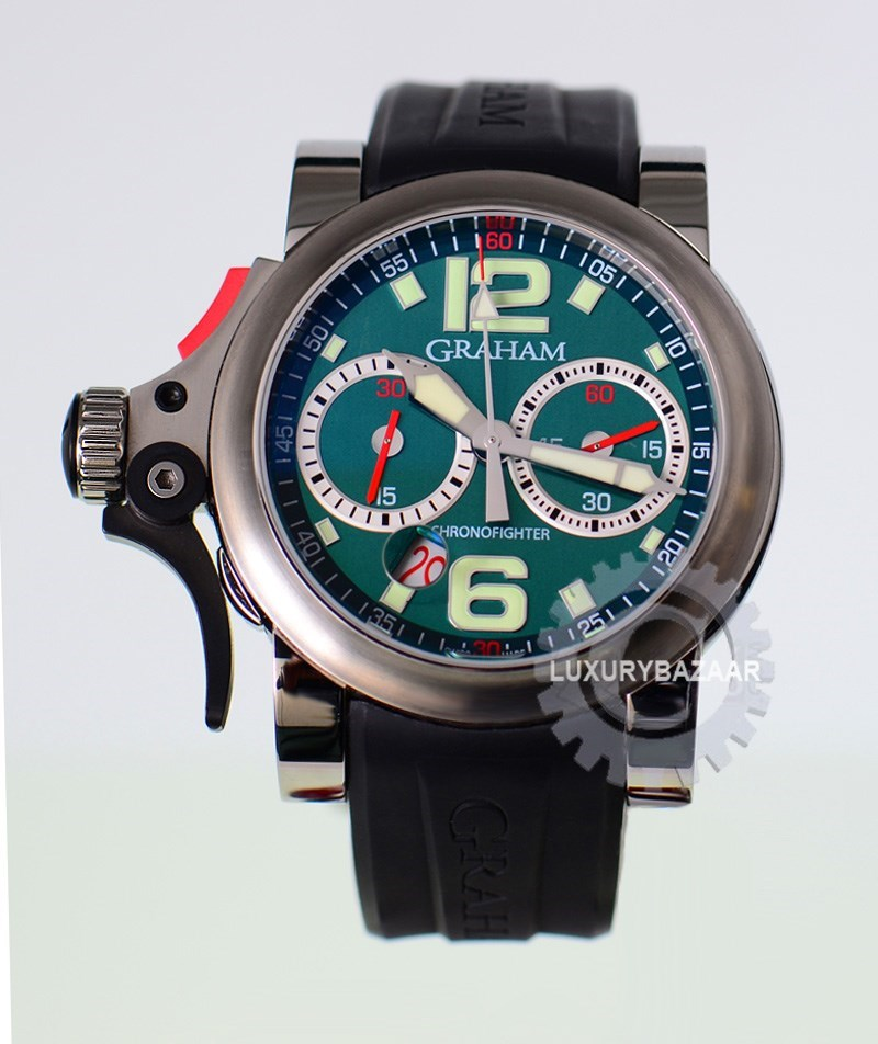 Chronofighter R.A.C. Trigger Olive Rush 2TRAS.G01A.K43B
