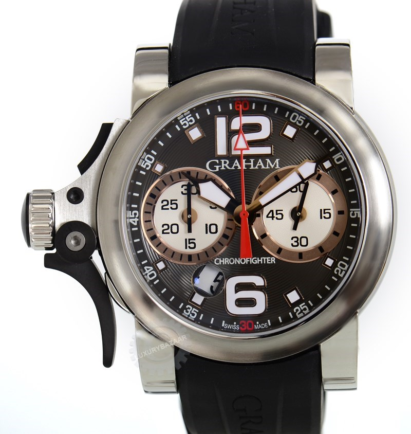 Chronofighter Trigger Charcoal Rush R.A.C. 2TRBS.B04A.K43S